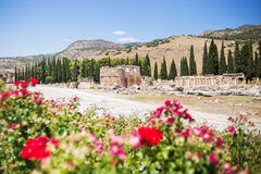 Antique Roman Hierapolis Royalty Free Stock Photography