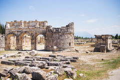 Antique Roman Hierapolis Royalty Free Stock Images