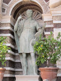 Antique roman statue Villa d'Este Royalty Free Stock Photo