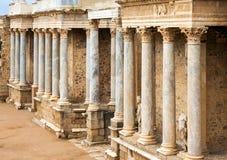 Antique  Roman Theatre in  Merida Royalty Free Stock Photo