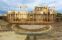 Antique Roman Theatre stock photos