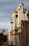 Antique Roman Theatre  in sunny morning at Merida Royalty Free Stock Image