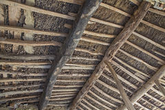 Antique roof Stock Image