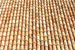Antique roof tiles Royalty Free Stock Image