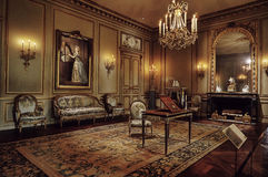 Antique Room in meropolitan museum of art Royalty Free Stock Photo