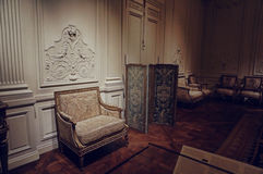 Antique room in meropolitan museum of art Stock Images