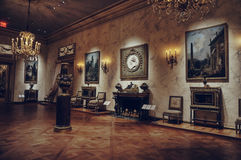 Antique Room in meropolitan museum of art Stock Image