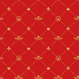 Antique royal background pattern Royalty Free Stock Photography