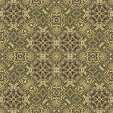 Antique rug. Background illustration of old Persian floor covering Stock Photography