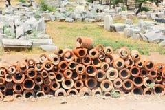 Antique ruins Stock Photos