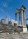 Antique ruins in Ephesus Stock Photo