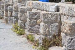 Antique ruins, Greece. Royalty Free Stock Photos