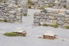 Antique ruins, Greece. Royalty Free Stock Photography
