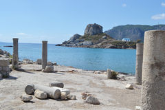 Antique ruins, Greece. Royalty Free Stock Images