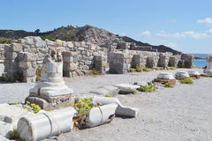 Antique ruins, Greece. Stock Images