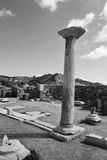 Antique ruins, Greece. Royalty Free Stock Photo