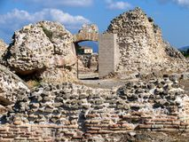 Antique ruins on Sardinia island. Italy royalty free stock images