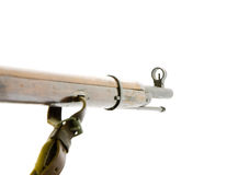 Antique russian mosin's rifle Stock Images