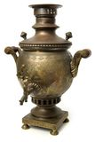 Antique Russian Samovar Royalty Free Stock Photography