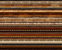 Antique rustic decorative frame patterns Royalty Free Stock Images