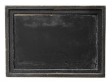 Antique rustic old Parisian Euro chalk board Stock Photos