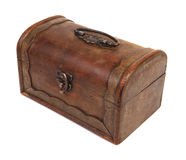 Antique rustic wooden box Royalty Free Stock Image