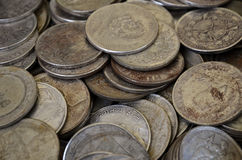 Antique rusty coins Royalty Free Stock Photo