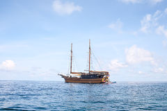 Antique Sailboat Stock Image