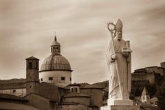 Saint Geminianus, Pontremoli, Italy Stock Images