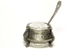 Antique salt shaker Stock Photo