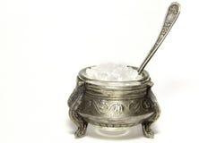 Antique salt shaker Stock Photo