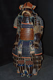 Antique samurai o-yoroi armour. Is on display at the Japanese Art of War exhibit on May 18, 2013 in Kiev, Ukraine Royalty Free Stock Photography