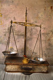 Antique scale Royalty Free Stock Image