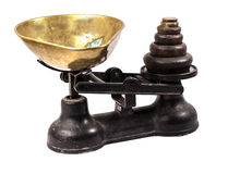 Antique scale. Stock Image