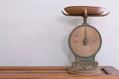 Antique scale Royalty Free Stock Photography