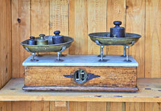 Antique Scales Stock Photography
