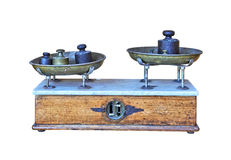 Antique Scales Royalty Free Stock Image