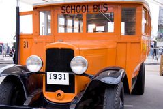 Antique School Bus Stock Photos