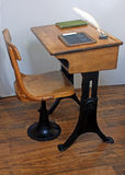 Antique School Desk Stock Images