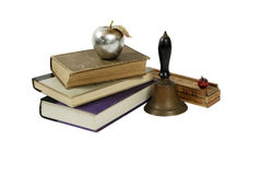Antique School items Stock Image