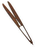 The antique scissors Royalty Free Stock Image