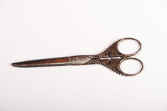 Antique scissors Royalty Free Stock Photos