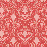Antique scroll wallpaper Royalty Free Stock Images
