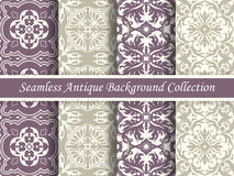 Antique seamless background collection_88 Royalty Free Stock Images