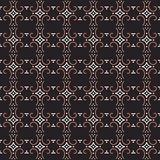 Antique seamless background image of round spiral curve cross dot line Stock Photo