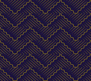Antique seamless background oriental curve wave cross geometry l Stock Images
