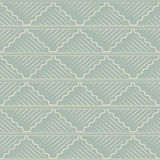 Antique seamless background oriental curve wave cross square che Stock Images