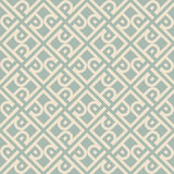 Antique seamless background 514 vintage cross frame spiral check geometry Stock Images