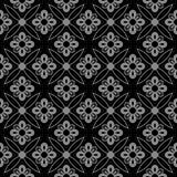 Antique seamless background 514 vintage cross round flower Stock Photos