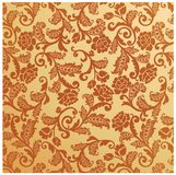 Antique seamless floral pattern Vintage Stock Photo